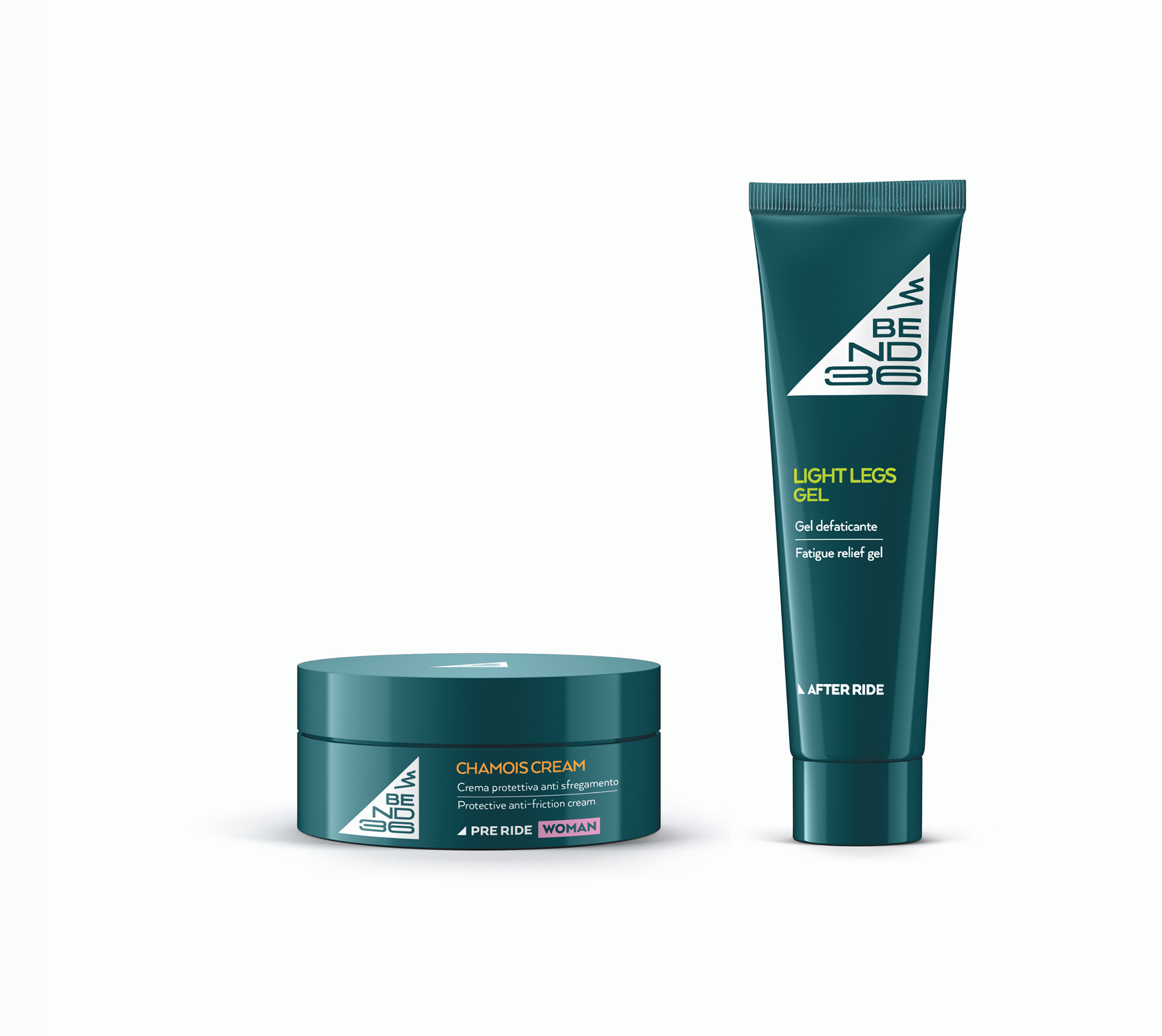 bend36 - CHAMOIS CREAM WOMAN + LIGHT LEGS GEL
